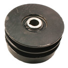 "212190A - Comet Industrial Cast Iron Double Pulley Centrifugal Clutch. 3/4"" bore."