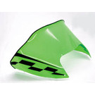 479-179-49 - Arctic Cat Low Flared Solid Neon Green w/ Black Checkerboard