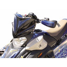 480-600-50 - Yamaha Gloss Black Peak Windshield. 05 and newer Apex & 06 and newer Attak Chassis.