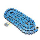 520BL-ORING-86-W1 - Blue 520 O-Ring Motorcycle Chain. 86 pins