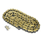 520GO-ORING-110 - Gold 520 O-Ring ATV Chain. 110 pins