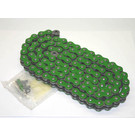 520GR-ORING-114-W1 - Green 520 O-Ring Motorcycle Chain. 114 pins