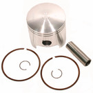721M07550 - Wiseco Piston for Polaris 300cc 2 stroke. .040 oversize