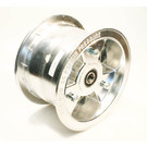 "AZ1125 - 6"" Aluminum Wheel, 4"" wide, 5/8"" ID Bearing"