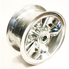 "AZ1130 - 6"" Astro Aluminum Wheel, 3"" wide, 3/4"" ID Bearing"