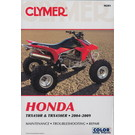CM201 - 04-09 Honda TRX450R / TRX450ER Repair & Maintenance manual.