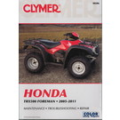 CM206 - 05-11 Honda TRX500 Foreman Repair & Maintenance manual.