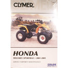 CM215 - 01-05 Honda TRX250EX Sportrax Repair & Maintenance manual.