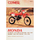 CM328 - 78-00 Honda XL250-350, XR250-350 & 84-85 XR200R Repair & Maintenance manual