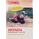 CM342 - 81-84 Honda ATC250R Repair & Maintenance manual.