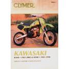 CM444 - 83-02 Kawasaki KX60 & 83-90 KX80 Repair & Maintenance manual