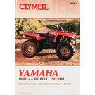 CM490 - 87-04 Yamaha Moto-4 & Big Bear Repair & Maintenance manual.