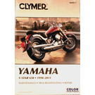 CM495 - 98-07 Yamaha V-Star 650, XVS650 Custom, XVS650A Classic Repair & Maintenance manual