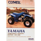 CM499 - 92-01 Yamaha YFM80 Badger. 85-88 Moto 4. 2002-2008 Yamaha YFM80 Raptor Repair & Maintenance manual.