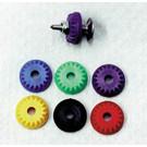 675-102-86 - 7mm Diamond Backers 144 pkg Purple