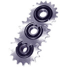"AZ2186 - Heavy Duty Idler/Tensioner Sprockets-5/8"" Prec Ball Bearing., #40/41 Chain"