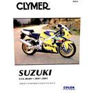 CM264 - 01-05 Suzuki GSX-R600 Repair & Maintenance manual
