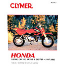 CM319 - 97-09 Honda XR50R, CRF50F, XR70R, & CRF70F Repair & Maintenance manual