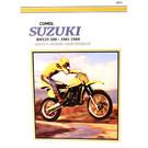 CM379 - 81-88 Suzuki RM125, RM250, RM465, RM500 Single Shock Repair & Maintenance manual