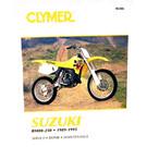 CM386 - 89-95 Suzuki RM80, RM125, RM250, RMX250 Repair & Maintenance manual
