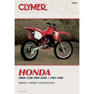 CM442 - 81-88 Honda CR60R-125R Pro-Link Repair & Maintenance manual