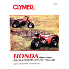 CM455 - 84-87 Honda ATC250 & Fourtrax 200cc-250cc Repair & Maintenance manual.