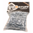 SS66F - Steel Plated Rivets (bag of 100). Use for slides.