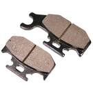 VD-266 - Bombardier Front Left and Rear ATV Brake Pads.