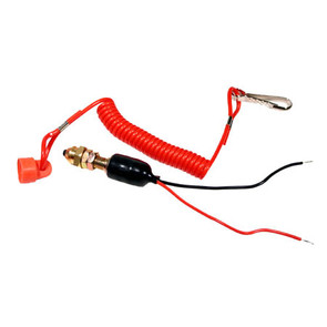 01-147 - Bombardier Safety Tether Kill Switch, Cap & Cord.
