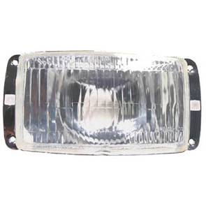 01-603 - Ski-Doo Headlamp Housing & Lens. Fit many older 1970 and 1980's models.
