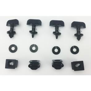 0295HDW - Replacement Quick Release Hardware Kit for Universal ATV Windshields