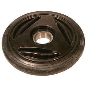 "04-0135-20 - Ski-Doo 5.350"" (135mm) Black Idler Wheel with 6205 series bearing (25mm ID)"