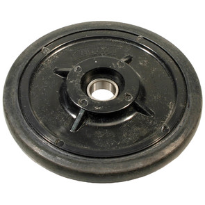"04-0634-20 - Polaris 6.380"" (162mm) Black Idler Wheel with 6004 series bearing (20mm ID)"