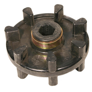 04-108-50 - Yamaha Snowmobile Track Drive Sprocket. 7 teeth, hex shaft.