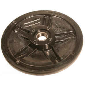 "04-1180-20 - Ski-Doo 7.125"" (180mm) Black Idler Wheel with 6004 series bearing (20mm ID)"