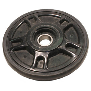 "04-1562-20 - Arctic Cat 5.630"" (143mm) Black Idler Wheel with 6004 series bearing (20mm ID)"