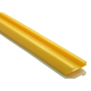 "04-239-07 -Yellow Slide for Ski-Doo REV, RT & RF Chassis with 121"" tracks (sold each)"