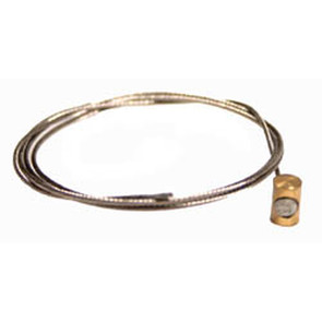 """05-904 - 28"""" 3/64"""" Inner Control Cable with Ball End & Ferrule"""