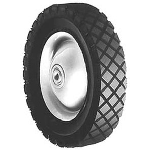 "6-271 - 8"" X 1.75"" Snapper 11082 Steel Wheel with 7/16"" ID Bearing"