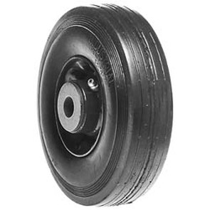 """6-3239 - 6"""" X 2.00"""" Ransomes/Bobcat 38012N and Bunton PLO-642 and Exmark 303201 and Encore 323008 and Kees 322008 Steel Wheel with 5/8"""" ID Roller Bearing"""