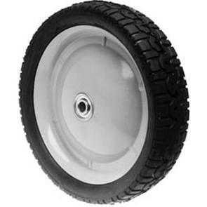"6-8263 - 9"" X 1.625"" Snapper 22800 and Tru-Cut 52109 Steel Wheel with 7/16"" ID Bearing (Radial Tread)"