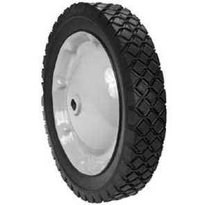 "6-8962 - 10"" X 1.75"" Snapper 44743 Steel Wheel Assembly (Double ""D"" Diamond Tread)"