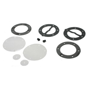 07-450 -(451453)  Mikuni Round Fuel Pump Repair Kit. All DF-52 dual & triple outlet pumps.