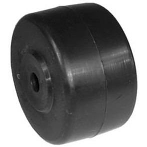 "7-6909 - 3"" X 1.75"" Deck Wheel with 1-7/8"" Centered Hub, 7/16"" Center Hole"
