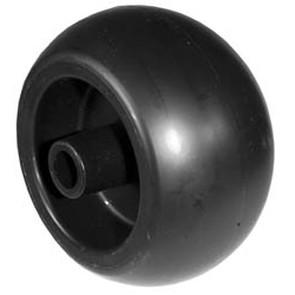 """7-6917 - 5"""" X 2.75"""" Deck Wheel, 2-1/2""""Offset, 5/8"""" Center Hole"""