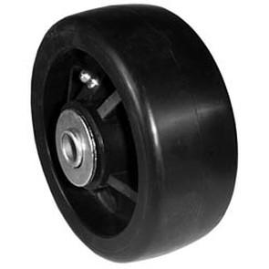 "7-8214 - 5"" x 2"" John Deere AM104126 Deck Wheel with 17/32"" ID Reducer Bushing"