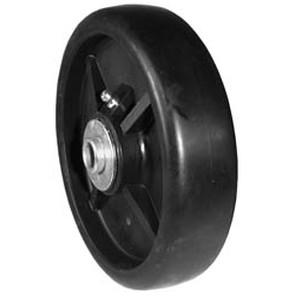 "7-8244 - 6"" x 1.5"" John Deere AM107560 Deck Wheel with 9/16"" ID Reducer Bushing"