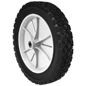 "7-8932 - 10"" x 1.75"" Snapper 35740 Plastic Wheel with Spline Drive Bushing (Diamond Tread)"