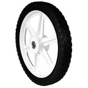 "7-9078 - Universal Plastic Wheel 14"" X 1.75"""