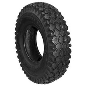 8-341 - 4.10 X 3.50 X 4 Stud Tire 2 Ply Tube Type
